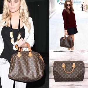 Classic❤️SPEEDY 35 Louis Vuitton bag monogram